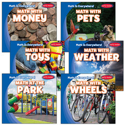 Math Is Everywhere! Book Set