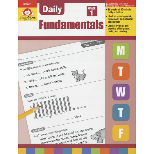 Daily Fundamentals Books - Grade 1