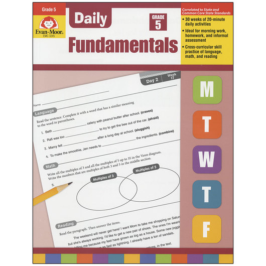 Daily Fundamentals Books - Grade 5