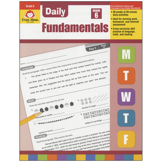 Daily Fundamentals Books - Grade 6