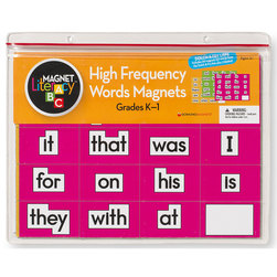 High Frequency Words Magnets