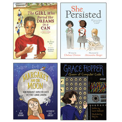Women Who Changed History Book Set - Set of 4