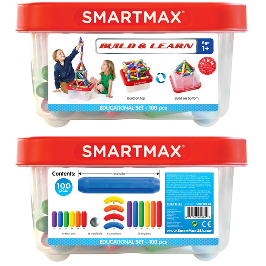 SmartMax® Magnetic Discovery - Build & Learn Set