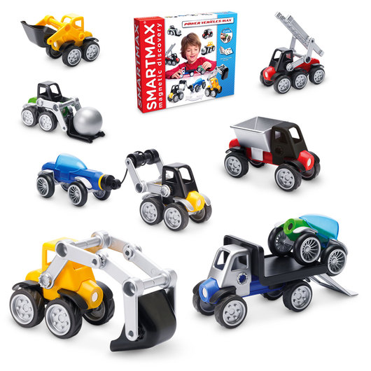 SmartMax® Magnetic Discovery - Power Vehicles Set