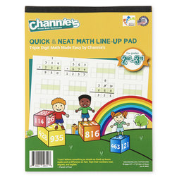 Channie's Math Line-Up Pads - Triple-Digit Math