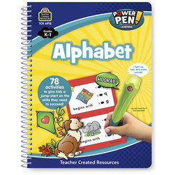 Power Pen™ Learning Book - Grades K-1 - Alphabet - 78 Activities