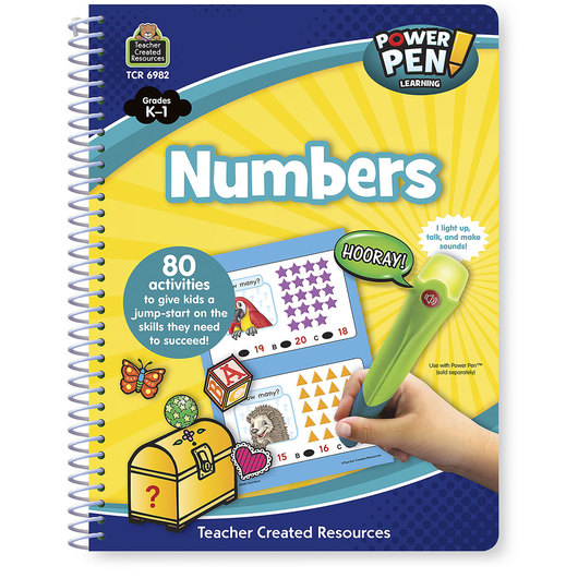 Power Pen™ Learning Book - Grades K-1 - Numbers - 80 Activities
