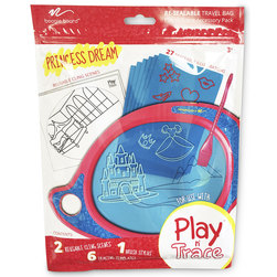 Boogie Board Play n Trace Activity Pack, Princess Dreams