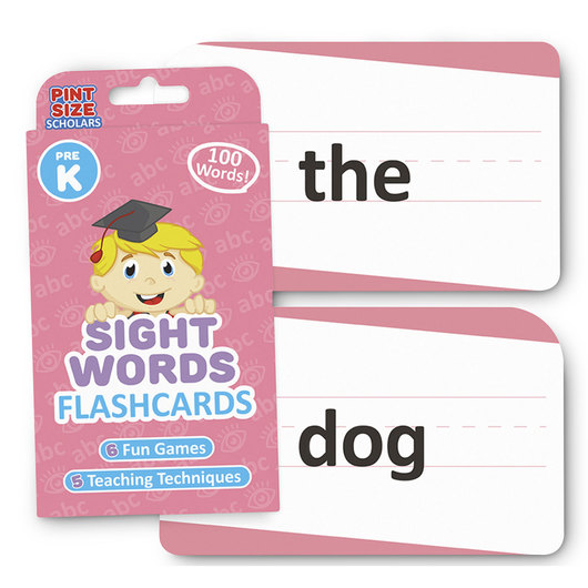 Sight Words Flashcards - Grade PreK