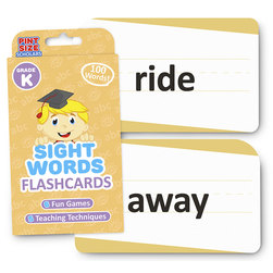 Sight Words Flashcards - Grade K
