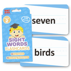 Sight Words Flashcards - Grade 2