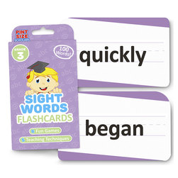 Sight Words Flashcards - Grade 3