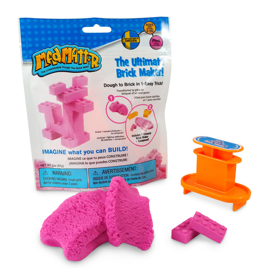 Mad Mattr® - The Ultimate Brick Maker 2-oz. Set - Pink