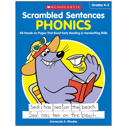 Scrambled Sentences Book - Phonics