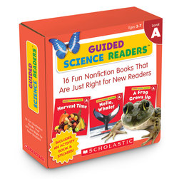 Guided Science Readers Parent Packs - Level A