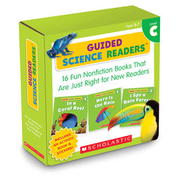 Guided Science Readers Parent Packs - Level C