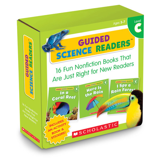 Guided Science Readers Parent Pack - Level C