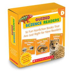 Guided Science Readers Parent Packs - Level D