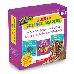 Guided Science Readers Parent Packs - Level E-F