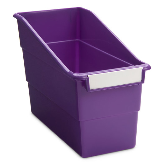 Tattle® Shelf File - 5-1/2 in. W - Purple