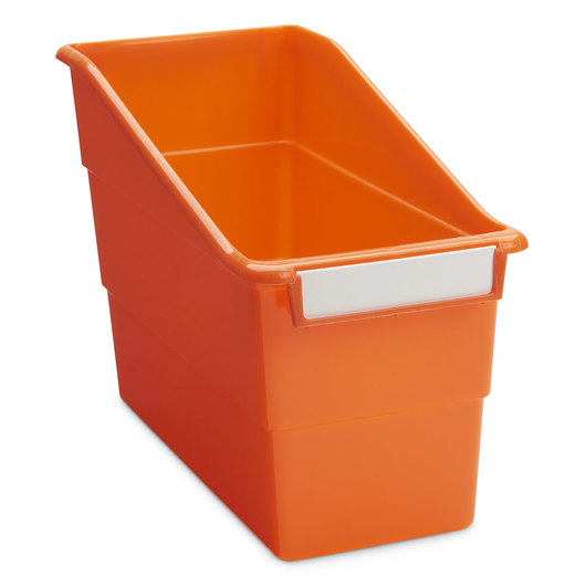 Tattle® Shelf File - 5-1/2 in. W - Orange