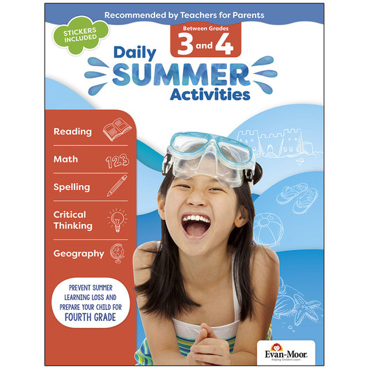 Daily Summer Activities - Grades 3-4