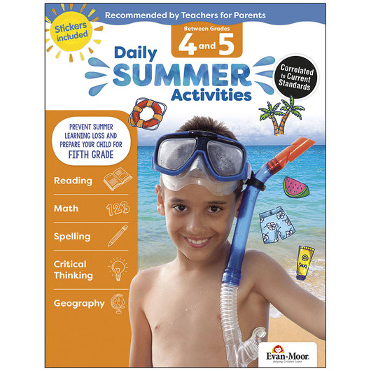 Daily Summer Activities - Grades 4-5