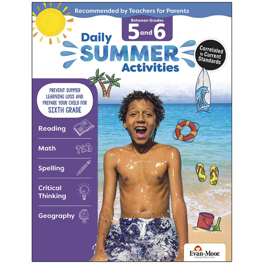 Daily Summer Activities - Grades 5-6