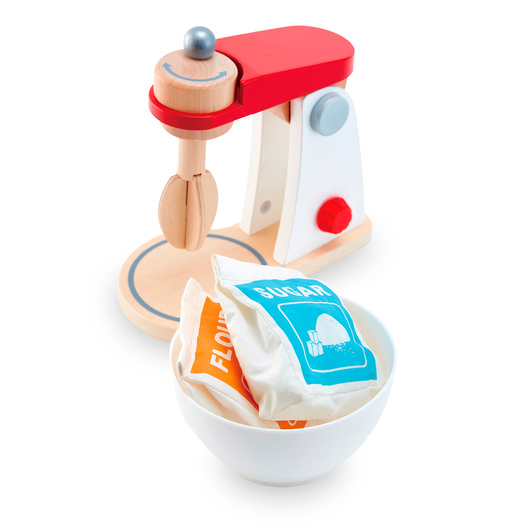 Wooden Play Appliance - Mix and Bake Blender