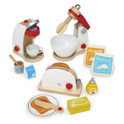 Wooden Play Appliance, Complete Set