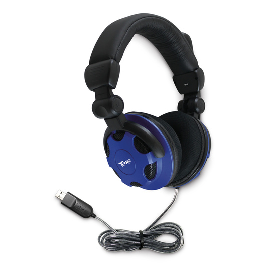 Hamilton Buhl T-PRO TRRS Headset with Noise-Cancelling Microphone Custom-Made for School Testing - Headset with USB 2.0 Plug