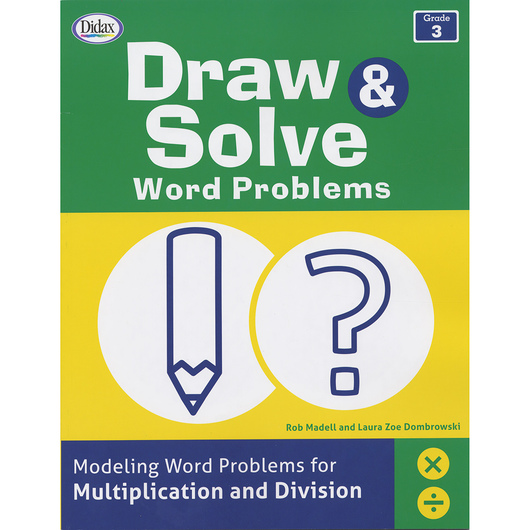 Draw & Solve Word Problems - Grade 3