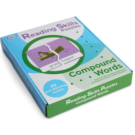 Reading Skills Puzzles - Compound Words Puzzle Set
