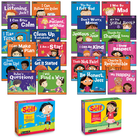 MySELF Early Readers Complete Boxed Set Collection