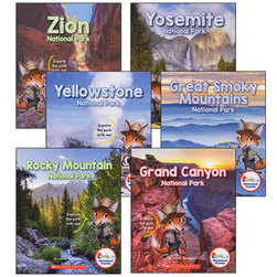 Rookie National Parks Books - Complete Set
