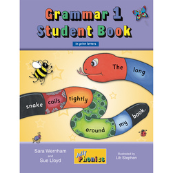 Jolly Phonics Grammar Book Student Book