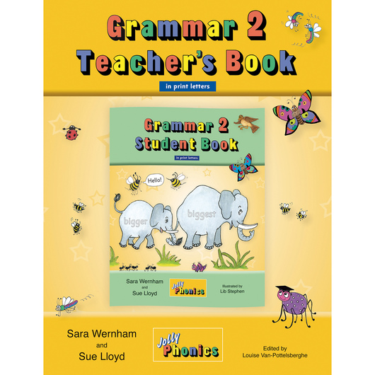 Jolly Phonics Grammar Book - Teachers Book - Grade 2