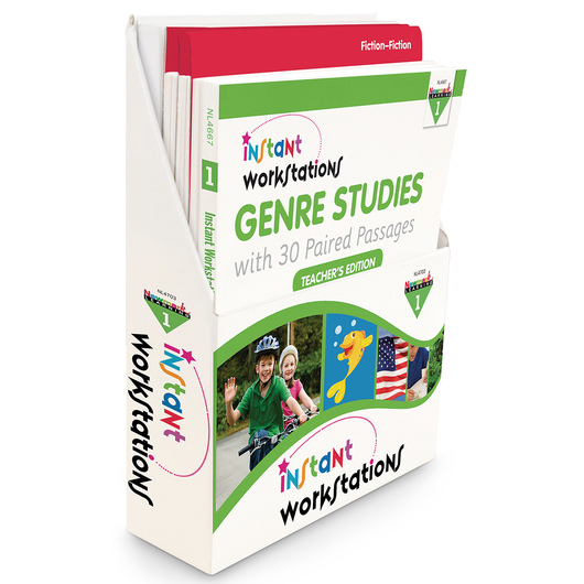 Instant Workstations - Genre Studies - Grade 1