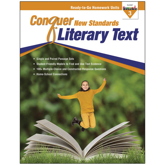 Conquer New Standards - Literary Text - Grade 3