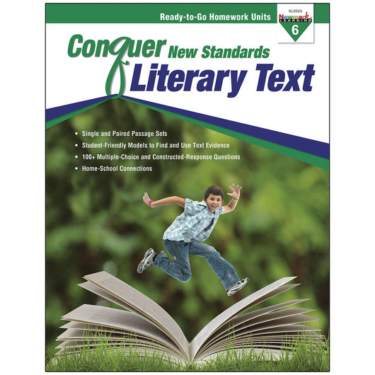 Conquer New Standards - Literary Text - Grade 6