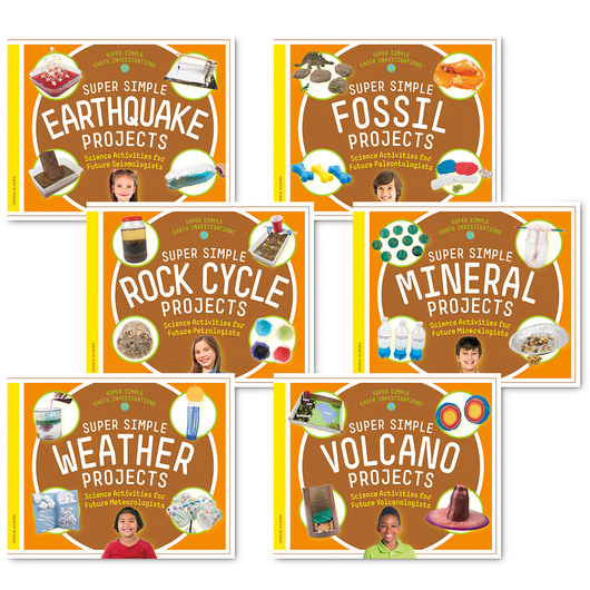 Super Simple Earth Investigations Book Set