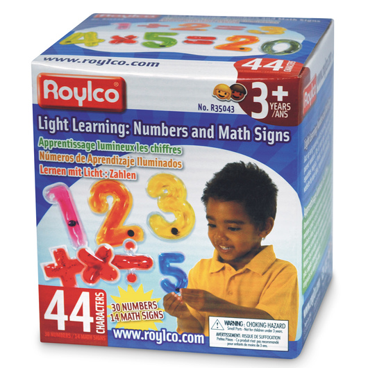 Roylco® Light Learning Set - Numbers