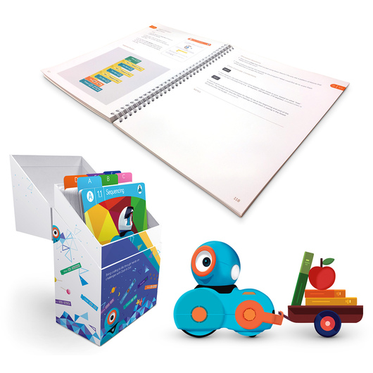 Wonder Workshop Learn to Code Education Dash™ and Dot™ Coding Robot Curriculum Pack