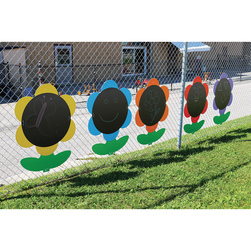 Outdoor Giant Chalkboard Flowers