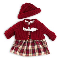 How to Dress Doll Clothes Collection - 15-3/4 in. Doll, Cold Weather Dress