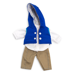 How to Dress Doll Clothes Collection - 12-5/8 in. Doll, Mild Weather Navy