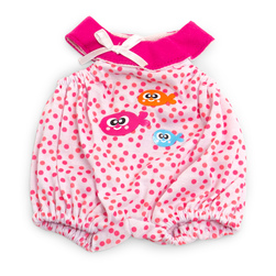 How to Dress Doll Clothes Collection - 12-5/8 in. Doll, Warm Weather Pajamas, Pink Dots