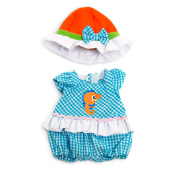 How to Dress Doll Clothes Collection - 12-5/8 in. Doll, Warm Weather Jumper Hat