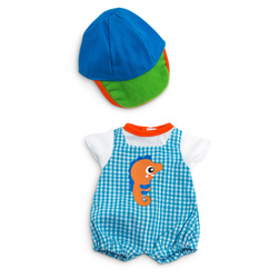 How to Dress Doll Clothes Collection - 12-5/8 in. Doll, Warm Weather Jumper Cap