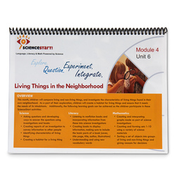 ScienceStart! Curriculum - Module 4: Neighborhood Habitats - Unit 6: Living Things in the Neighborhood